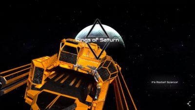 ΔV: Rings of Saturn